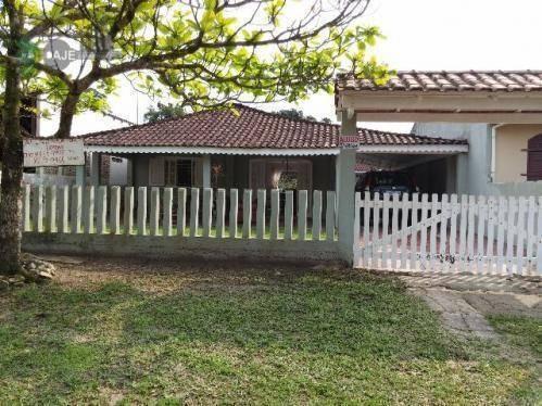 Casa Com 4 Dormitórios À Venda, 180 M² Por R$ 300.000 - Balneário Brasília - Itapoá/sc - Ca0083