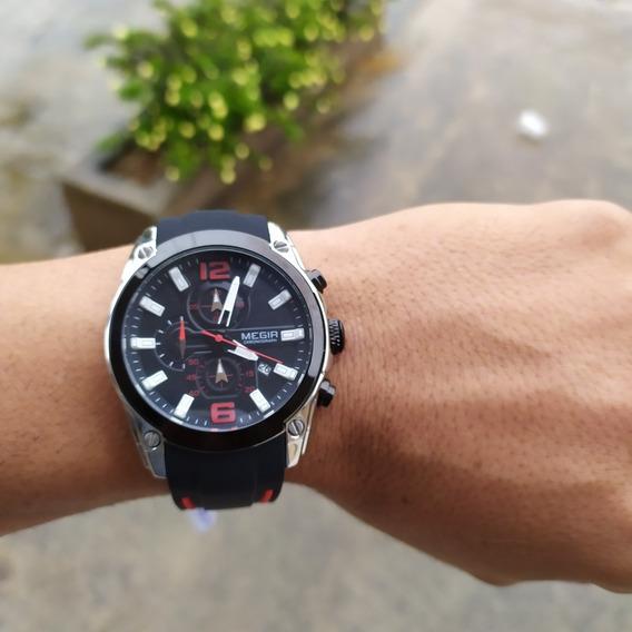 Relógio Masculino Megir 2063 Pronta Entrega No Brasil Barato