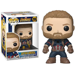 Funko Pop - Infinity War - Hulk - Thanos - Capitan America