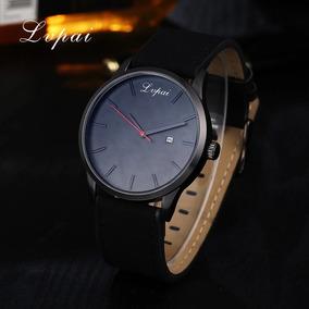 Relógio Unissex Cor Preta, Nova Moda.
