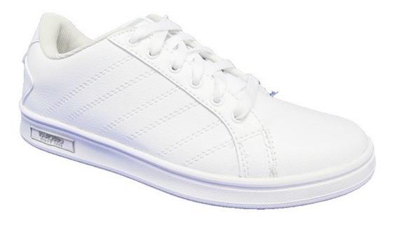 Tenis Blancos Escolar Karosso 9408 18-21.5