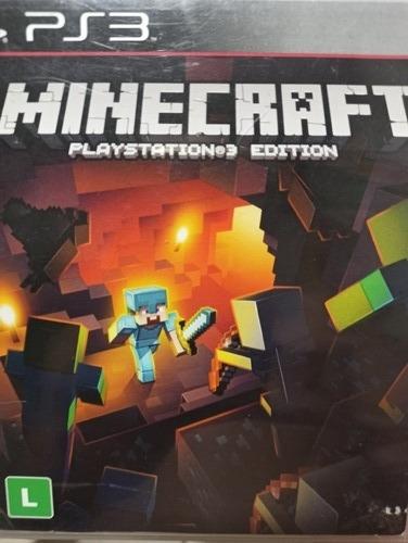 Minecraft Playstation 3 Edition Original , Mídia Física