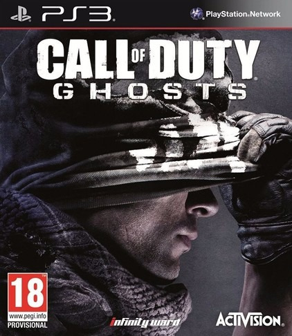 Jogo Call Of Duty Ghosts Ps3 Mídia Física Dublado Português