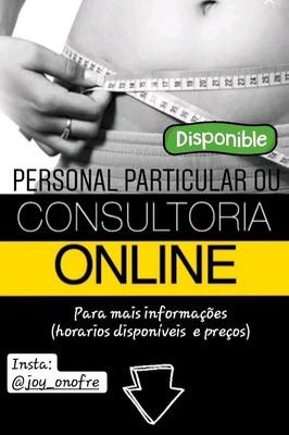 Personal Particular Ou Consultoria Online