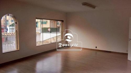 Imagem 1 de 18 de Casa, 430 M² - Venda Por R$ 2.445.000,00 Ou Aluguel Por R$ 7.500,00/mês - Jardim Bela Vista - Santo André/sp - Ca1232