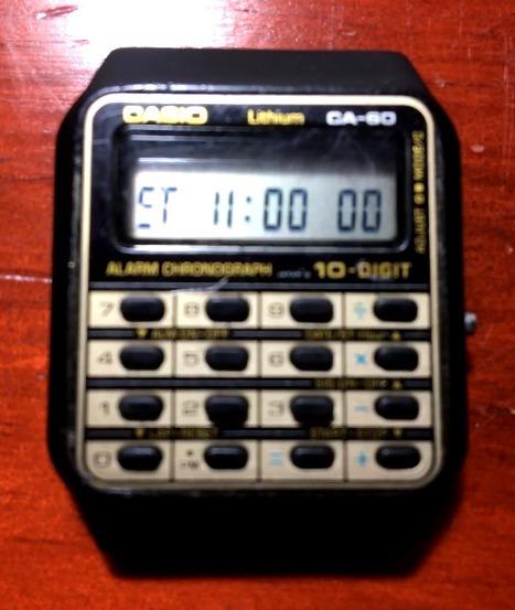 Reloj Casio Vintage Calculadora 10dig
