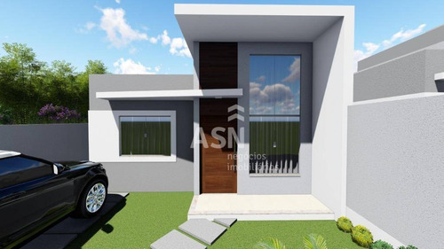 Imagem 1 de 4 de Casa Com 2 Dormitórios À Venda, 56 M² Por R$ 210.000,00 - Parque Das Flores - Rio Das Ostras/rj - Ca0613