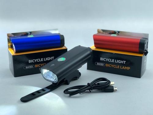 Luz En Aluminio De 400 Lum Ecargable Usb Resistente Al Agua