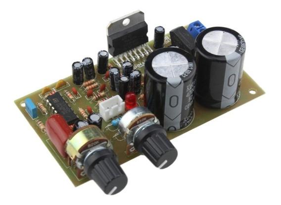 Placa Amplificador Subwoofer 100w Com Fonte Tda7294