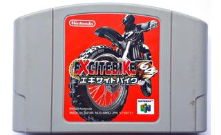 Jogo Excitebike 64 Nintendo 64 N64 Original Japonês Cartucho