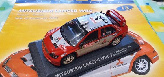 1/43 Mitsubishi Lancer Wrc Montecarlo 2004 + Fasciculo #13
