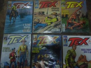 Lote 41. 06 Revista Tex Coleção. 183/184/185/187/188/189