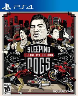 Sleeping Dogs Definitive Edition Ps4, Disco, Nuevo Y Sellado