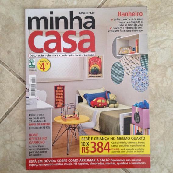 Revista Minha Casa N18 Out2011 Quarto De Criança Home Office