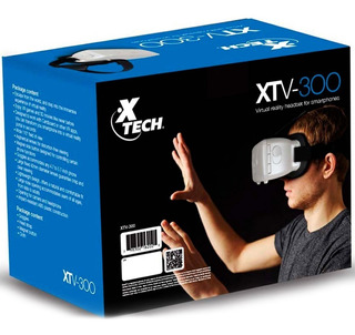 Lentes De Realidad Virtual 3d Xtech Visor 360° 9 Oferta!!