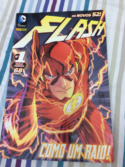 Flash Vol 1 Novos 52