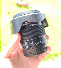 Lente Canon Ef-s 10-18mm Is Stm - Grande Angular