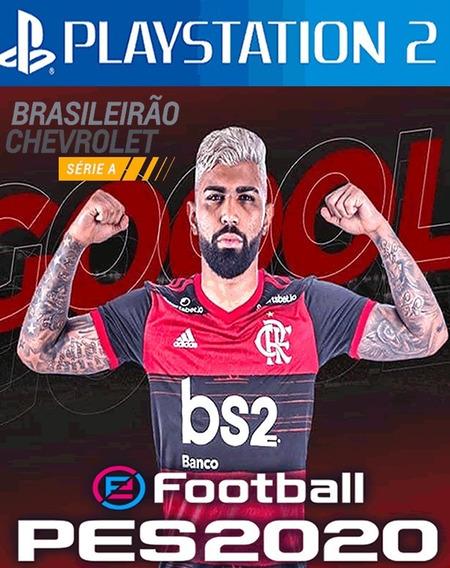 Patch Pes 2020 Brasileirão Atual ,playstation 2,atualizado