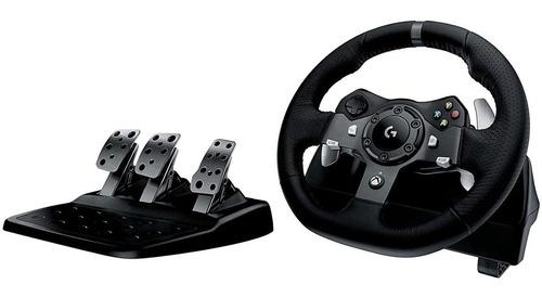 Imagen 1 de 7 de Volante Logitech G920 Driving Force Para Xbox One Pc 941-000
