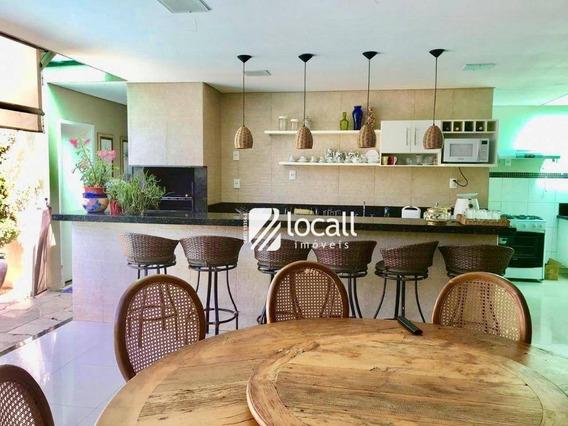 Casa Com 4 Dormitórios À Venda, 150 M² Por R$ 900.000 - Jardim Vivendas - São José Do Rio Preto/sp - Ca1967