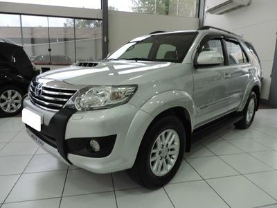 Toyota Hilux Sw4 3.0 Srv 4x4 Prata Turbo Interc Diesel 2012
