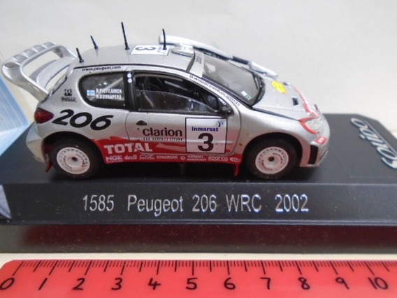Solido 1/43 Peugeot 206 Wrc Rally Safari 2002