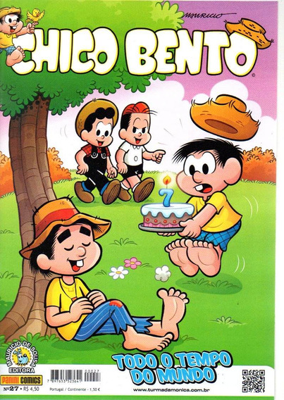 Chico Bento 27 2ª Serie - Panini - Bonellihq Cx142 J19