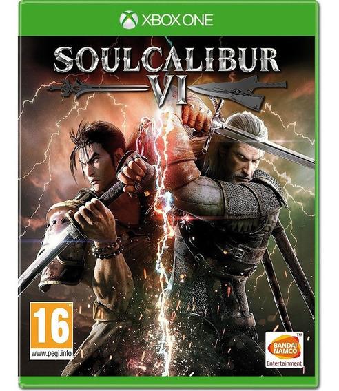 Soulcalibur 6 Vi Xbox One Disco Fisico Lacrado Português Br