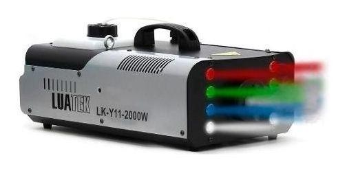 Maquina De Fumaça Potencia 2000w Lk-y11 Luatek Led 8 Buffets