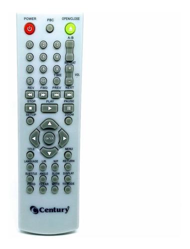 Imagem 1 de 2 de Controle Remoto Dvdplayer Scene Century / Autorizada Century