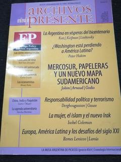 Revista Latinoamericana. Archivos Del Presente, Año 10