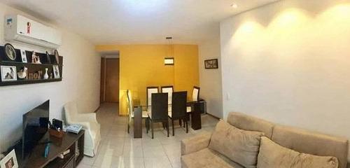 Apartamento Com 2 Dormitórios À Venda, 85 M² Icaraí - Niterói/rj - Ap5928