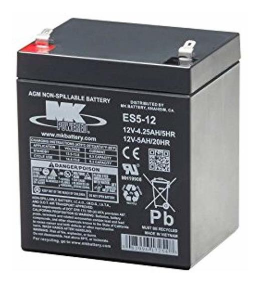 Mk Battery Mk Batería Es5-12 Sellada Sin Mantenimiento