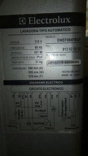 Se Busca Tapa Superior De Lavadora Electrolux