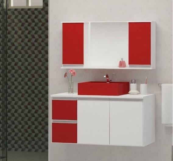 Gabinete Banheiro 100 Cm Casa Móveis E Decoração No