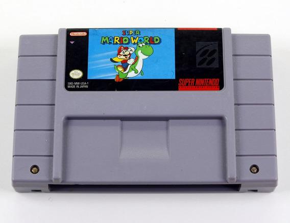 Super Mario World Original - Snes Super Nintendo
