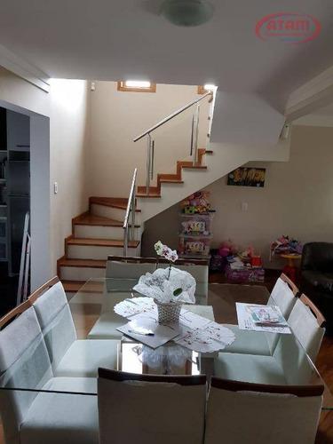 Sobrado Residencial À Venda, Condomínio Irara Branca, Mairiporã. - So0086
