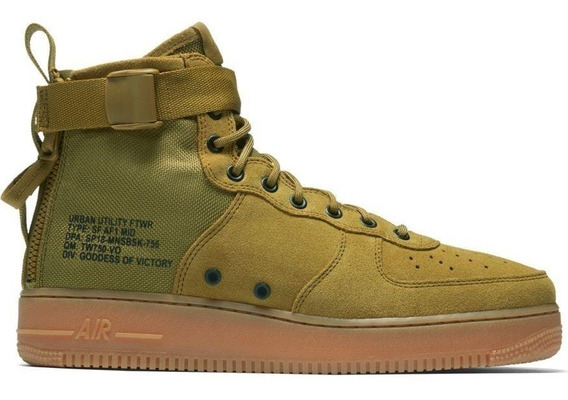 Nike Air Force Sf Af1 Mid 917753-301 Importación Mariscal