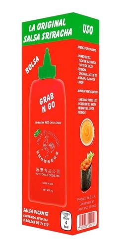 Sriracha Salsa Picante Huy Fong En Sobre 8 Pzs De 7g C/u