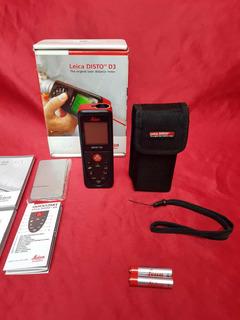 Distanciometro Láser Leica Distó D3 Telémetro No Hilti Bosch
