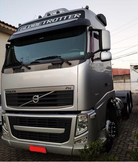 Volvo Fh 460 6x2t Globetrotter 2014 Prata