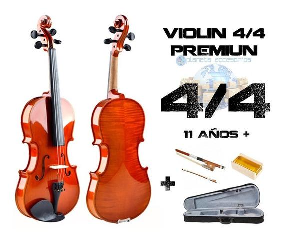 Violín 4/4 Calidad Premium + Estuche
