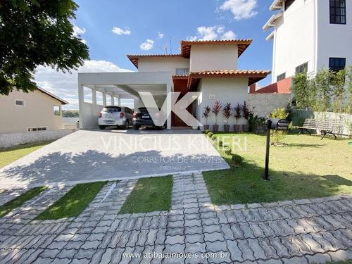 Casa Com 3 Dormitórios No Condomínio Terras De Atibaia I - Atibaia/sp - Ca0302