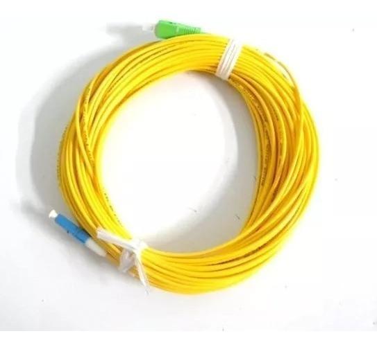 Cordão Óptico Patch Cord Lc/upc X Sc/apc 15mts