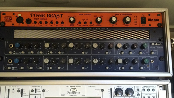 Tl Audio Eq2 Stereo Valve Preamp & Parametric Equalizador