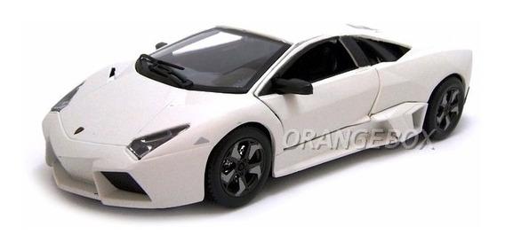 Lamborghini Reventón Bburago 1:24 Branco 21041