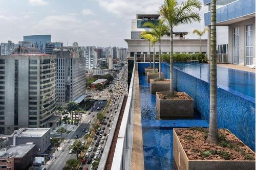 Imagem 1 de 30 de Apartamento Para Venda Ou Locação No Horizonte Jk, Com 54 Metros, 1 Dormitório E 1 Vaga De Garagem. - Sp - Ap0941_sales
