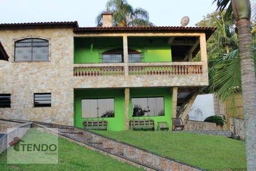 Chácara Com 4 Dormitórios À Venda, 7000 M² Por R$ 1.800.000 - Chácaras Casemiro - Suzano/sp - Ch0046