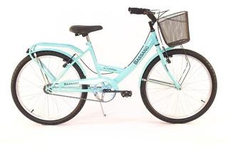 Bicicleta Mujer Paseo Rod 24 Súper Completa