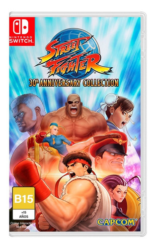 Imagen 1 de 4 de Street Fighter 30 Aniversario - Nintendo Switch
